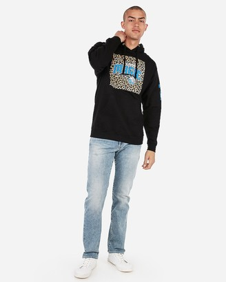 Express Orlando Magic Nba Fleece Hoodie