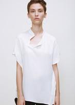 Zero Maria Cornejo white twisted shirt