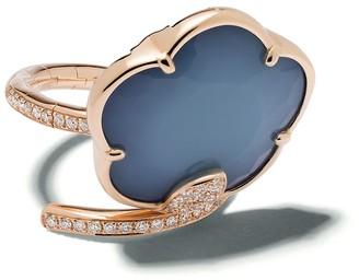 Pasquale Bruni 18kt rose gold diamond Joli ring