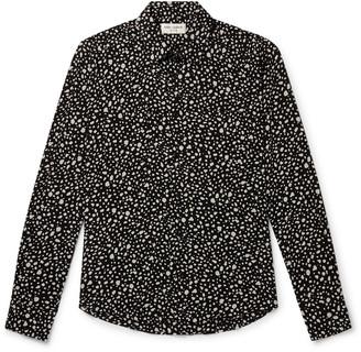Saint Laurent Printed Woven Shirt