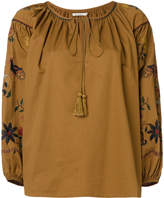 Mes Demoiselles embroidered Hansel blouse