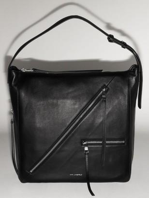 Karl Lagerfeld Paris LEATHER HOBO BAG