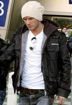 Superdry Brad Leather Jacket - as seen on David Beckham -