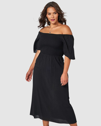 Sunday In The City Ex-Factor Maxi Dress