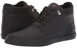 Lacoste Esparre Winter C 319 1 (Black/Black) Men's Shoes
