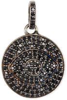 Margo Morrison Black Spinel Evil Eye Charm/Pendant