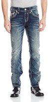 Rock Revival Men's Tenley J200 Straight Fit Jean