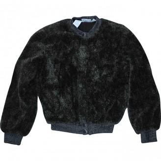 Gianfranco Ferre Brown Faux fur Jackets