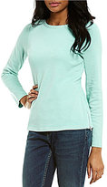 Tommy Bahama Boat Neck Long Sleeve Light Weight Aruba Seaglass Pullover