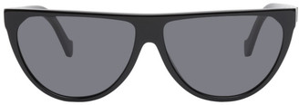 Loewe Black Semi Circle Sunglasses