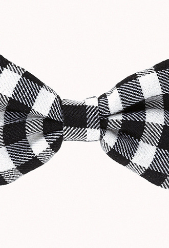 Forever 21 Checkerboard Bow Hair Clips