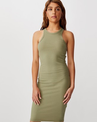 Cotton On Kirsty Racerback Body-Con Midi Dress