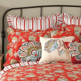 August Groveâ® Warfel Quilted Sham August GroveA Color: Red