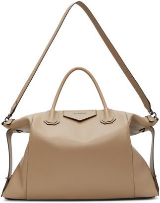 Givenchy Beige Large Soft Antigona Bag