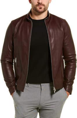 Theory Morvek L.Kelleher1 Leather Jacket