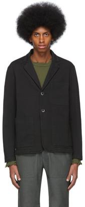 Barena Black Refada Overshirt Blazer