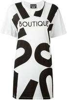 Moschino oversized T-shirt - women - Cotton - 36