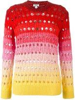 Kenzo 'Tie & Dye' jumper - women - Mohair/Wool/Polyimide - M