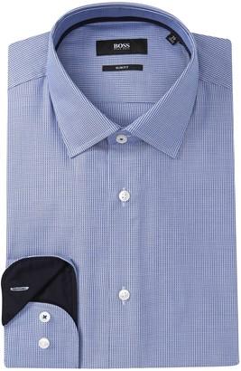 BOSS Jesse Slim Fit Solid Dress Shirt