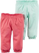 Carter's 2-pk. Pants - Baby Girls newborn-24m
