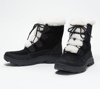 Ryka Water Repellant Faux Fur Winter Boots - Briella Fur