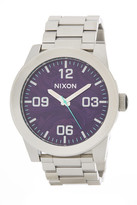 Nixon Men&s Corporal Stainless Steel Watch