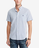 Polo Ralph Lauren Men's Big & Tall Cotton Seersucker Shirt