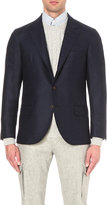 Brunello Cucinelli Regular-fit Checked Virgin-wool Jacket