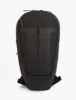 Y-3 Black Tapered Backpack