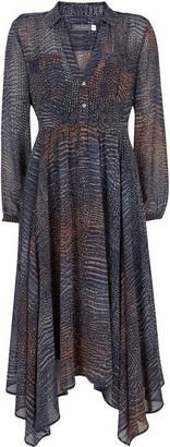 Mint Velvet Marlee Snake Trapeze Dress