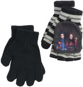 Disney Disney's Descendants Mal & Evie Girls 4-16 2-pk. Convertible Flip-Top Fingerless Gloves