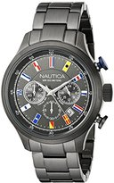 Nautica Men's NAD20011G NCT 16 FLAGS Analog Display Quartz Grey Watch