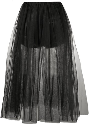 Alchemy Layered Tutu Style Skirt