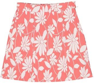 Miu Miu Pink Cotton Skirt for Women