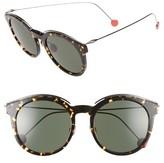 Christian Dior Women's Blossom 52Mm Retro Sunglasses - Black/ Dark Ruthenium