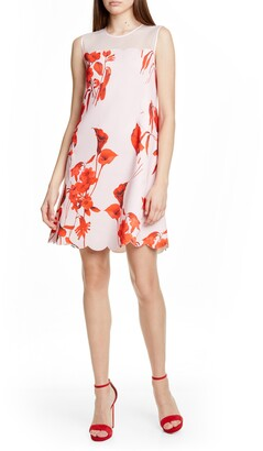Ted Baker Jaazmin Fantasia Scallop Minidress