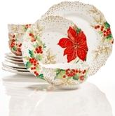 222 Fifth Winter Confetti Dinnerware Collection
