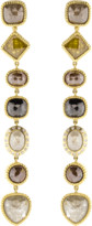 Todd Reed Fancy Diamond Drop Earrings