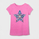 Cat & Jack Toddler Girls' Graphic T-Shirt - Cat & Jack Pizzazz Pink Star