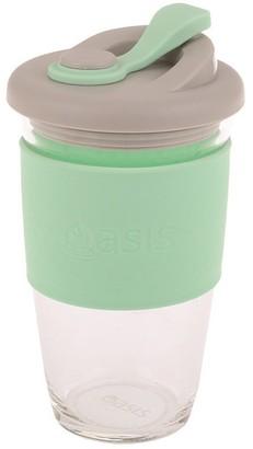 Oasis Eco-Cup Borosilicate Glass Spearmint 454ml