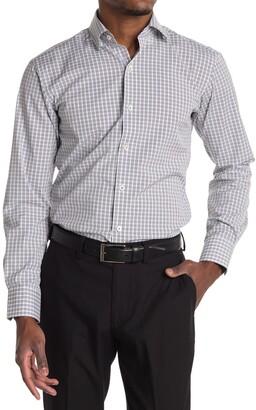 Bugatchi Plaid Shaped Fit Shirt