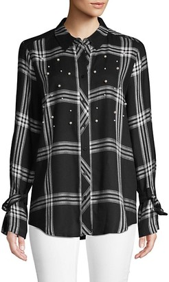 Laundry by Shelli Segal Plaid Button-Down Shirt