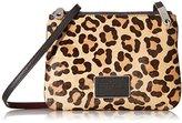 Marc by Marc Jacobs Ligero Leopard Double Percy Cross Body Bag