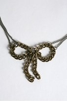 Love Lila By Round Designs Bow Necklace