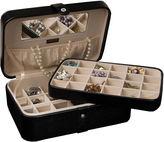 Asstd National Brand Mele & Co. Lila Black Faux-Leather Jewelry Box