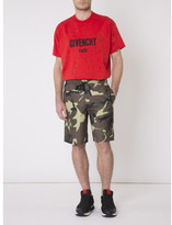 Givenchy camo swim shorts