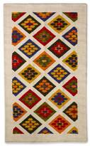 Novica Handcrafted Wool 'Flowers' Rug 3.5 x 5 (Mexico)