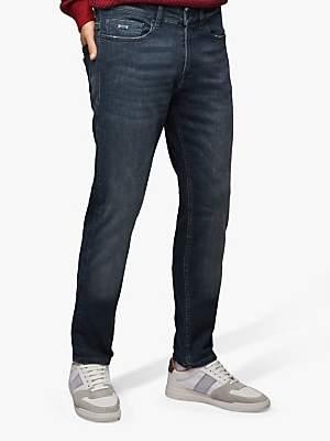 HUGO BOSS BOSS Delaware Slim Fit Jeans, Navy