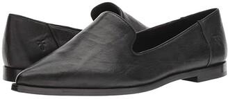 Frye Kenzie Venetian (Black Antique Soft Vintage) Women's Slip-on Dress Shoes