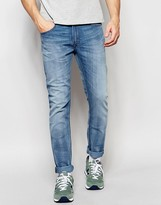 Lee Jeans Luke Skinny Fit Stretch Instinct Blue Light Wash